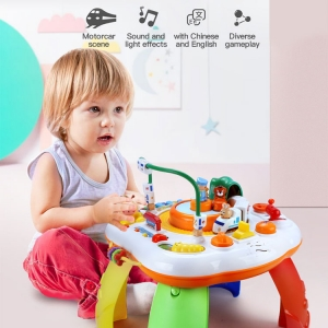 Baby Multi-functional Toy Desk 1-3 years old baby early education study table toys
