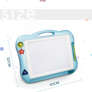 Colorful Magnetic Doodle Manga Sketch Drawing Pad Board for Kids Early Education